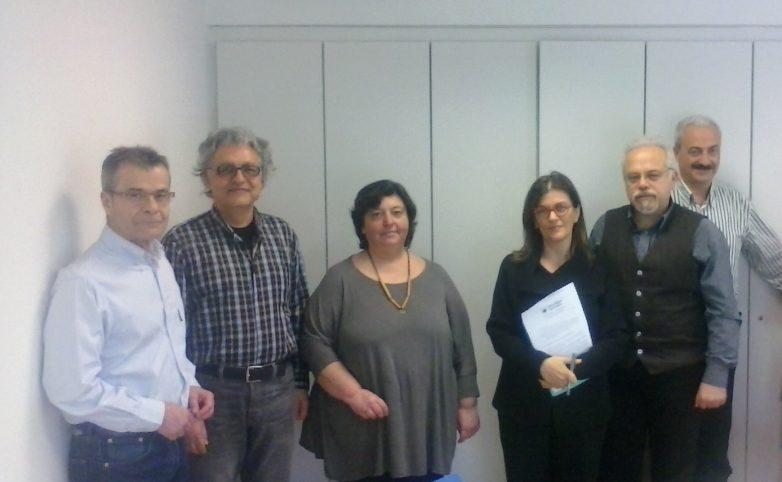 Συνάντηση Οικολόγων Πράσινων με την αναπλ. Υπουργό Εργασίας Ρ. Αντωνοπούλου