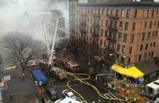 Τουλάχιστον 12 τραυματίες από την ισχυρή έκρηξη σε πολυκατοικία της Νέας Υόρκης
