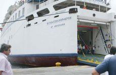 Αποκολλήθηκε το «Βιτσέντζος Κορνάρος» και εισήλθε στο λιμάνι της Κάσου