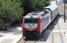 Εκτροχιάστηκε εμπορική αμαξοστοιχία έξω από τη Θεσσαλονίκη εξαιτίας της βροχής