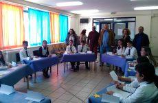 Συνάντηση Αχ. Μπέου  με μαθητές