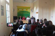 Συνέντευξη Τύπου του Ευρωπαϊκού Πράσινου Κόμματος στην Αθήνα