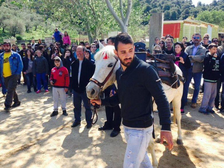 Με ιπποδρομίες γιορτάστηκε ο Αγ. Γεώργιος στη Σκιάθο