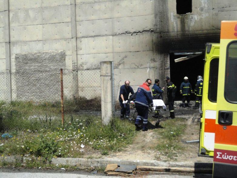 Ένας νεκρός κι ένας πολυεγκαυματίας από τη φονική έκρηξη στο εργοστάσιο της Α' ΒΙΠΕ