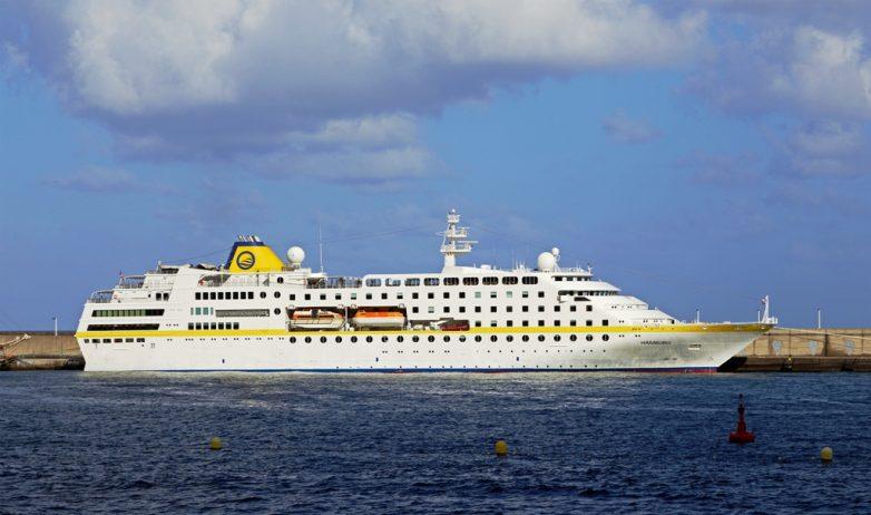 Στο λιμάνι του Βόλου κατέπλευσε το κρουαζιερόπλοιο Hamburg