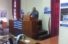 Δ. Καζάκης: «Καταστροφικό  σενάριο το διπλό νόμισμα»