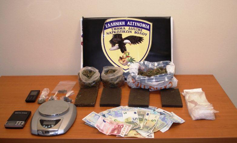 Συνελήφθη διακινητής ναρκωτικών στο Βόλο