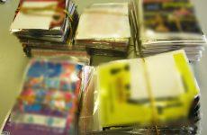 Κατασχέσεις παράνομων CD – DVD  από το Λιμεναρχείο Βόλου