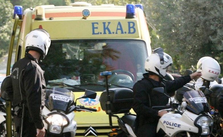Τραυματισμός 28χρονου Ρουμάνου σε τροχαίο στο ύψος του Αϊδινίου
