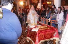 Επικοινωνεί με μαθητές ο Μητροπολίτης Δημητριάδος