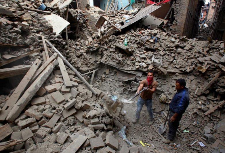 Νεπάλ:Τραγικές στιγμές μετά τα 7,9 Ρίχτερ