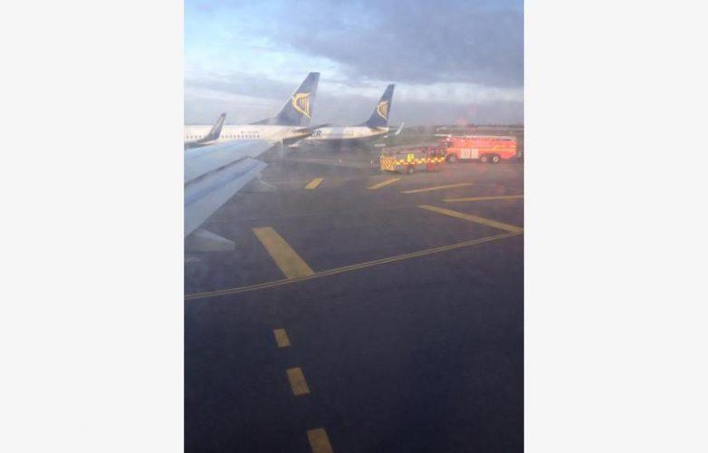 Συγκρούστηκαν αεροσκάφη της Ryanair στο αεροδρόμιο του Δουβλίνου
