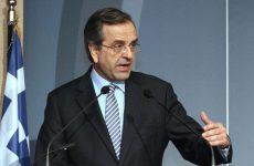 Σαμαράς: Κυβέρνηση εθνικής συνεννόησης χωρίς Τσίπρα Πρωθυπουργό