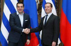 Μεντβέντεφ: «Σημαντικός εταίρος με προοπτική η Ελλάδα»