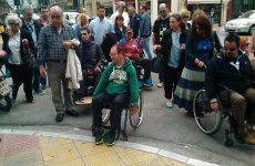 Απροσπέλαστο το κέντρο του Βόλου για άτομα με κινητικά προβλήματα