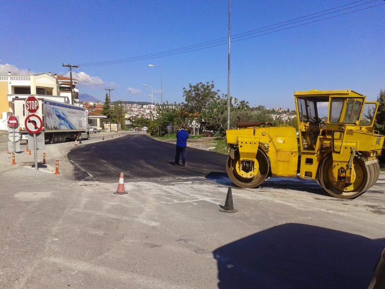 Συνεχίζεται το έργο συνδέσεων δρόμων  με την περιφερειακή οδό