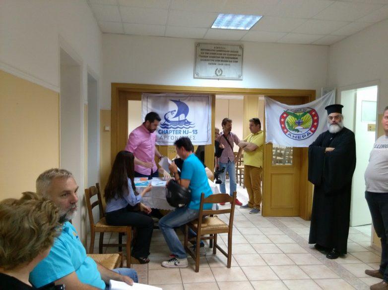 Πάνω απο 200 άτομα εξετάστηκαν σε εκδήλωση των ΑΧΕΠΑΝΣ