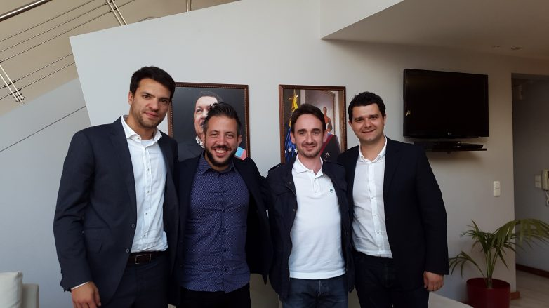 Επίσκεψη  βουλευτών του ΣΥΡΙΖΑ στην πρεσβεία της Μπολιβαριανής Δημοκρατίας της Βενεζουέλας