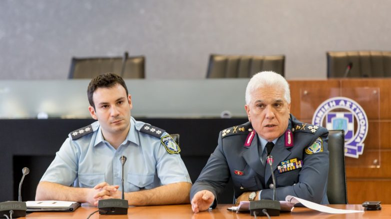 Δηλώσεις Αρχηγού ΕΛ.ΑΣ. για τη σύλληψη καταζητούμενων ατόμων στη Ν.Αγχίαλο