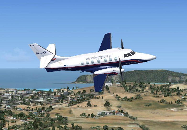 """Σύνδεση  Θεσσαλίας -Κρήτης με την """"Sky Express"""""""