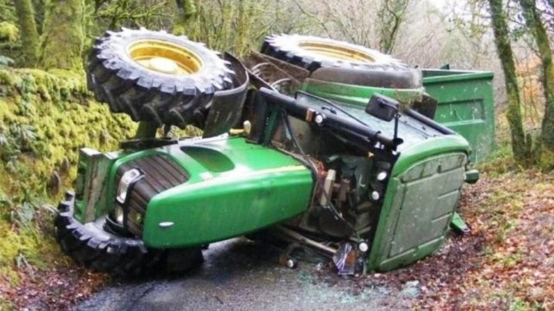 Αγρότης στο Διμήνι καταπλακώθηκε από το τρακτέρ του!
