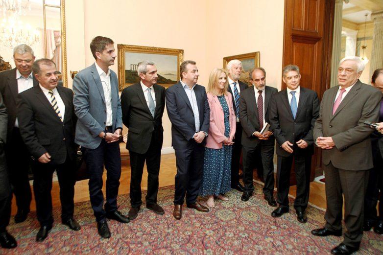 Συνάντηση της ΕΝΠΕ με τον Πρόεδρο της Δημοκρατίας