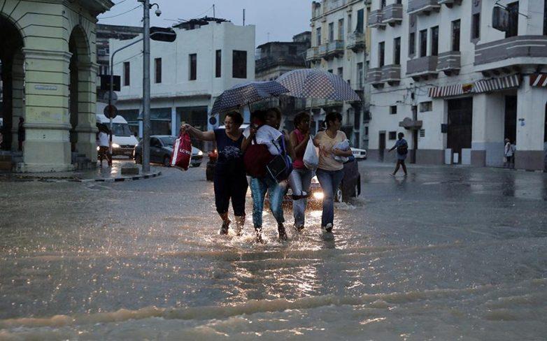 «Φονικές» βροχές στην Κούβα