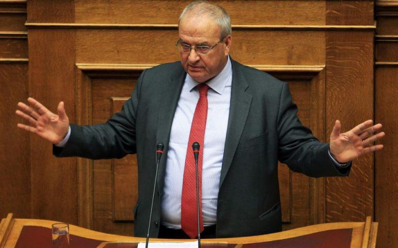 Φάκελος με σφαίρα εστάλη στον Λεωνίδα Γρηγοράκο στη Βουλή