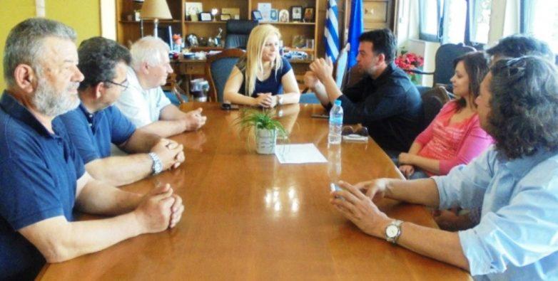 Συνεργασία της Δωρ. Κολυνδρίνη με εκπροσώπους της ΟΕΒΕΜ
