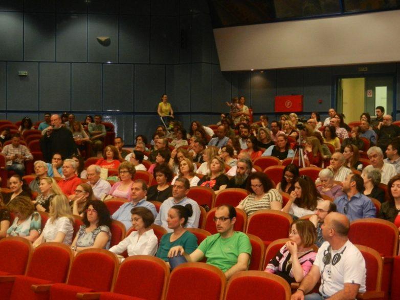 Πλήθος νέων γονέων και συζύγων στην εκδήλωση λήξης των Σχολών Γονέων