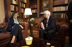 Συνάντηση Παυλόπουλου – Μπακογιάννη στο Προεδρικό Μέγαρο