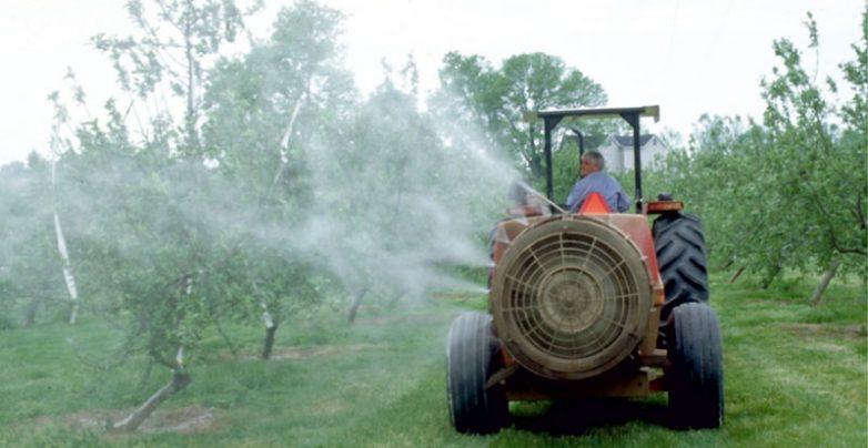 Λήψη μέτρων για ορθή χρήση ψεκασμού φυτοφαρμάκων