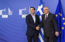 Επικοινωνία  Jean-Claude Juncker -Αλέξη Τσίπρα
