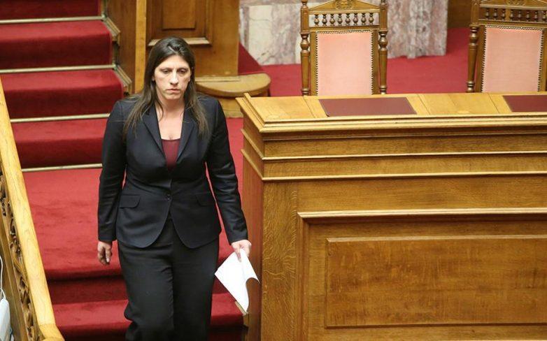 Αναστολή πληρωμής χρέους ζητά η Ζωή Κωνσταντοπούλου