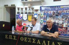 Πρόεδρος ΕΠΣΘ: Αγωνιζόμαστε για το καλό του ποδοσφαίρου