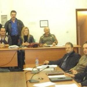 απο την τελευταία συνεδρίαση του Δημοτικού Συμβουλίου Αρτέμιδας