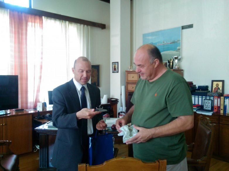 Συνάντηση δημάρχου Βόλου με τον πρέσβη της Τσεχίας