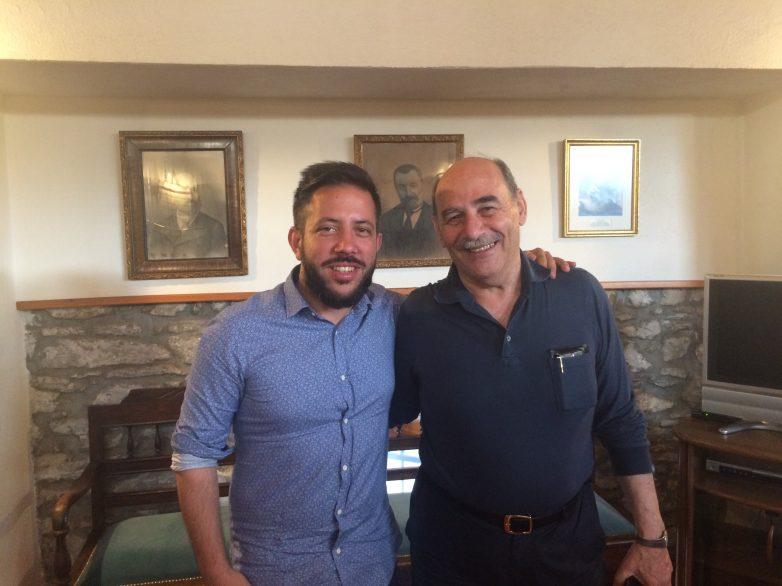 Συναντήσεις με φορείς και σωματεία ο Αλ. Μεϊκόπουλος το τριήμερο του Αγίου Πνεύματος