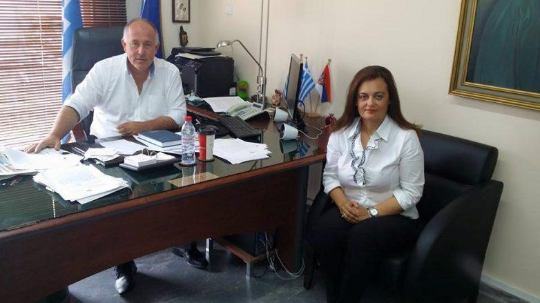 Θερμό κλίμα συνεργασίας μεταξύ δημάρχου Δήμου Ρήγα Φεραίου-αντιδημάρχου Παιδείας & Πολιτισμού Δήμου Βόλου