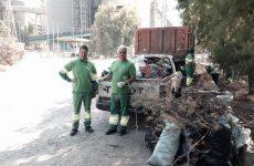 Την παραλία της ΑΓΕΤ καθάρισαν οι εργαζόμενοι