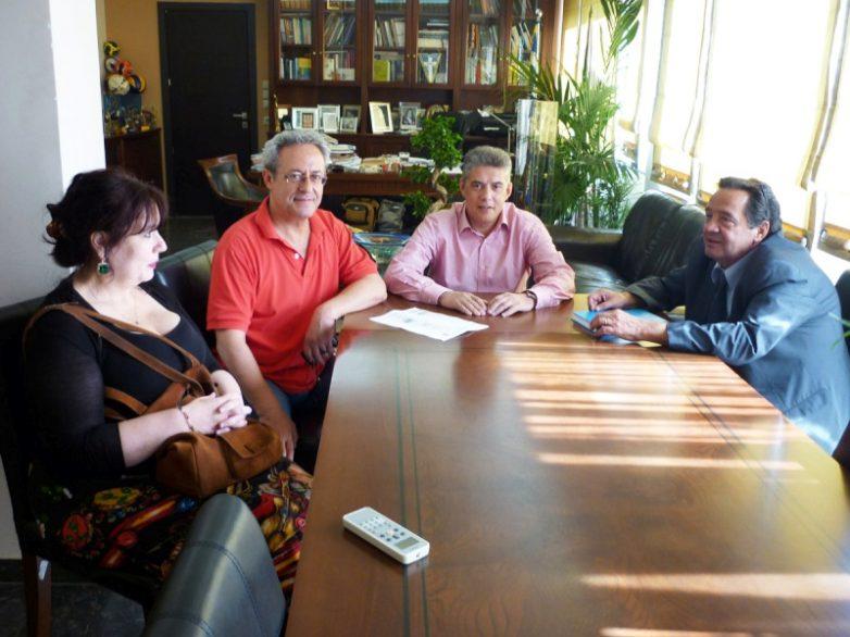 Επίσπευση στα έργα Υγείας του ΕΣΠΑ ζήτησε ο Κ. Αγοραστός από το νέο Διοικητή της 5ης ΥΠΕ