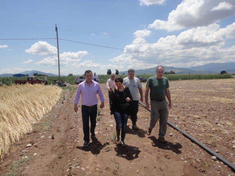 Επίσκεψη του βουλευτή Μαγνησίας Χρ. Μπουκώρου  σε πληγείσες περιοχές
