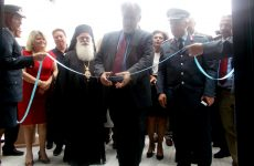 Εγκαινιάστηκε το νέο Αστυνομικό Μέγαρο Μαγνησίας από τον αναπληρωτή υπ. Προστασίας του Πολίτη