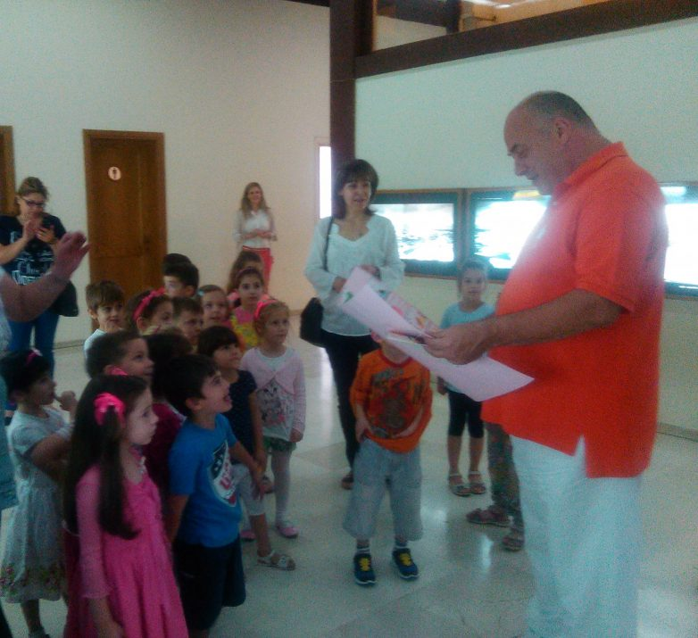 Το Δημαρχείο επισκέφθηκαν οι μαθητές του 17ου Νηπιαγωγείου Βόλου