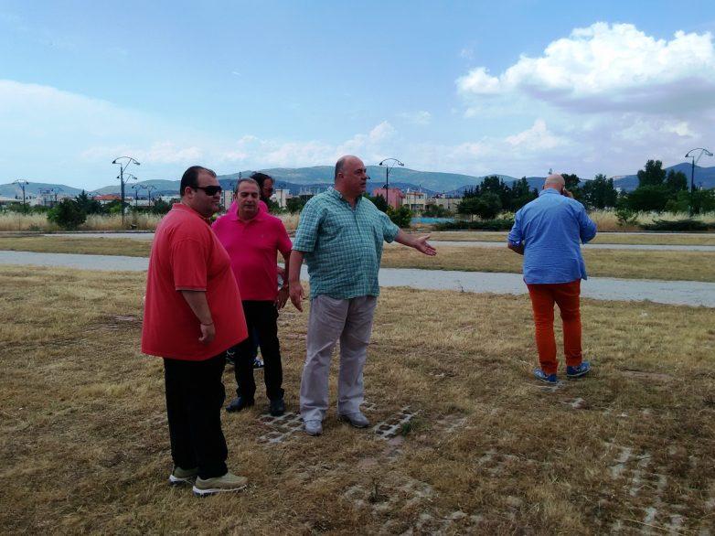 Αιχμές κατά της αντιπολίτευσης από το  δήμαρχο Βόλου για τα έργα στο πάρκο του Πανθεσσαλικού