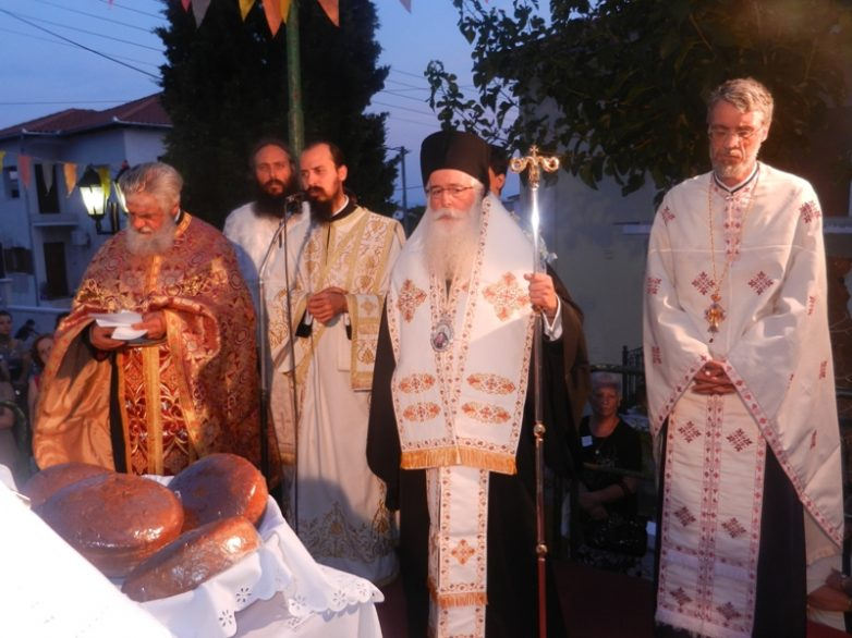 Τιμήθηκε η Σύναξη των Αγίων Αποστόλων στη Μητρόπολη Δημητριάδος