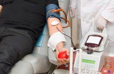 Εθελοντική αιμοδοσία στην πλατεία Ελευθερίας