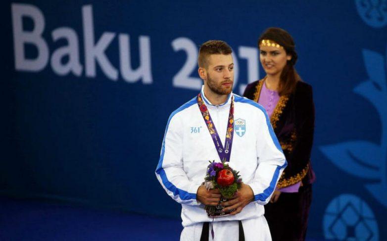 Ασημένιο μετάλλιο ο Τζάνος στο καράτε