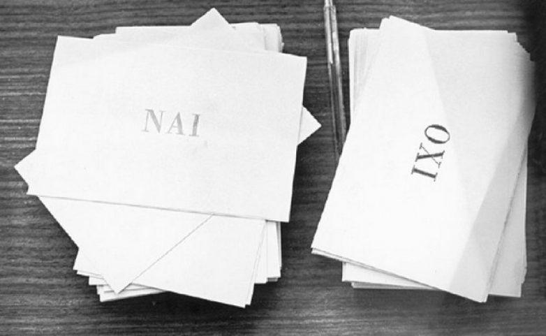 Δημοψηφίσματα της Ελλάδος από το 1920 μέχρι σήμερα