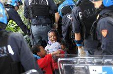 Εκδίωξη μεταναστών από τα σύνορα της Ιταλίας